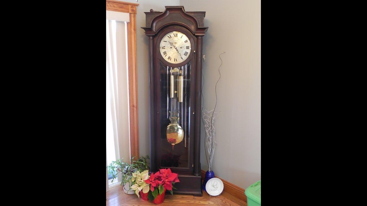 Grandfather Clock Sounds Flat