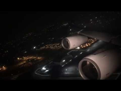 AIR TAHITI NUI 111 TAKE OFF LOS ANGELES | BUSINESS CLASS