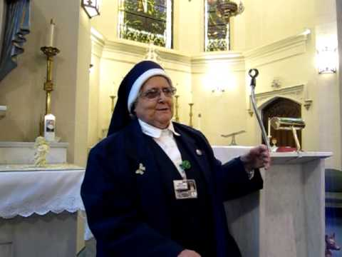 Sr. Mary Irene on Background of St. Marianne Cope