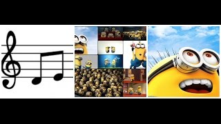 Funny Minions Sounds (Despicable Me)