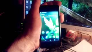 Скриншот одним пальцем на ZTE Blade AF3