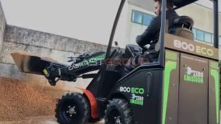 Cast 800 Eco Mini Loader Youtube