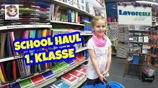 HANNAHS SCHOOL HAUL ✏️ 5-Jährige kauft Schulsachen für die 1. Klasse ✏️ Einschulungs - Shopping