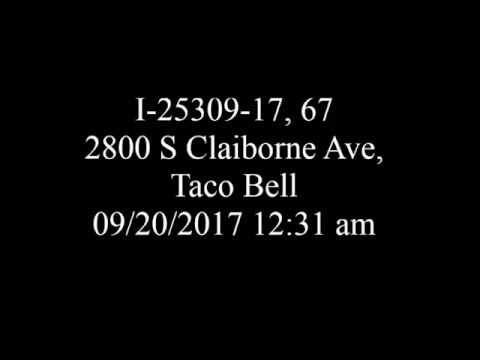 I-25309-17 - September 20, 2017 - Theft - 2800 Block of S Claiborne Ave