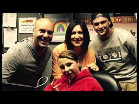Aaron Dissell on CBS Radio w/ Michelle Knight 'Survivor' Song Interview