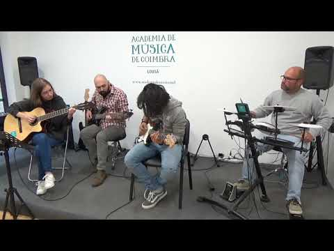 Lousã   Valter  Caian Sandes, bateria, prof Carlos Gonçalves, House of the Rising Sun by The Anima