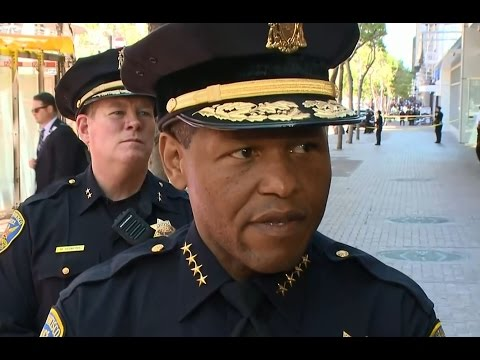 MARKET STREET SHOOTING: SFPD Chief William Scott talks about fatal officer-involved shooting
