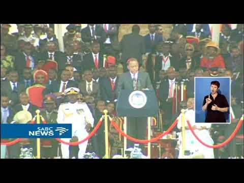 Uhuru Kenyatta vows to unite all Kenyans