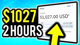 How I Made $1027 From 2 Hours Work! (And How YOU Can Too!) - Make Money Online 2019