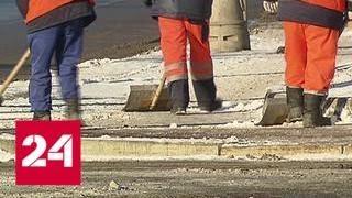 Мороз и снег украсили первую рабочую неделю года - Россия 24