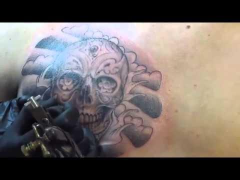 Japanese Wave Armband Tattoo