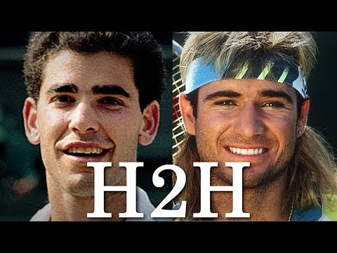 Sampras vs Agassi - All 34 H2H Match Points (HD)