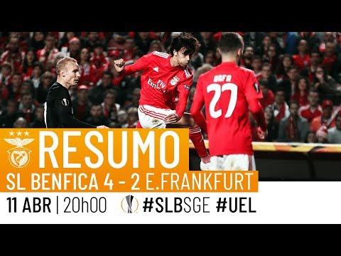 HIGHLIGHTS: SL Benfica 4-2 Eintracht Frankfurt