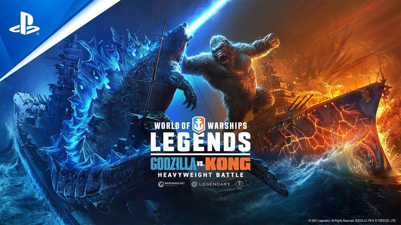 World of Warships: Legends – Godzilla versus Kong: Heavyweight Battle | PS5