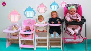 Preparo Biberones para los Bebés en su nueva habitación