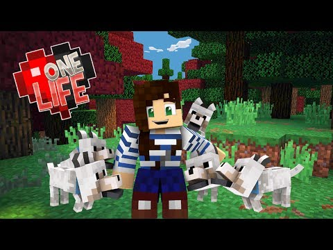 THE PUPPY ARMY! - ONE LIFE MINECRAFT (EP.6)