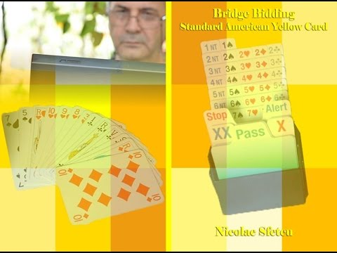 Book: Bridge Bidding - Standard American Yellow Card