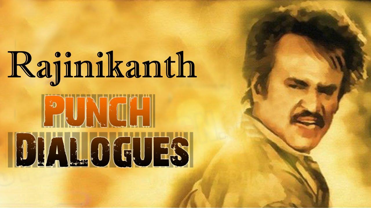 Most Popular Superstar Rajinikanth Punch Dialogues