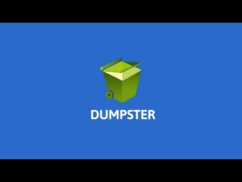 Dumpster - Recycle Bin app for Android