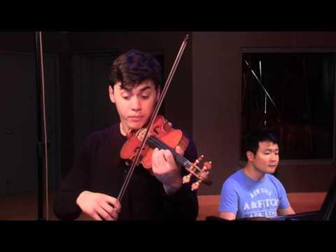 Benjamin Beilman records Stravinsky's Violin Divertimento