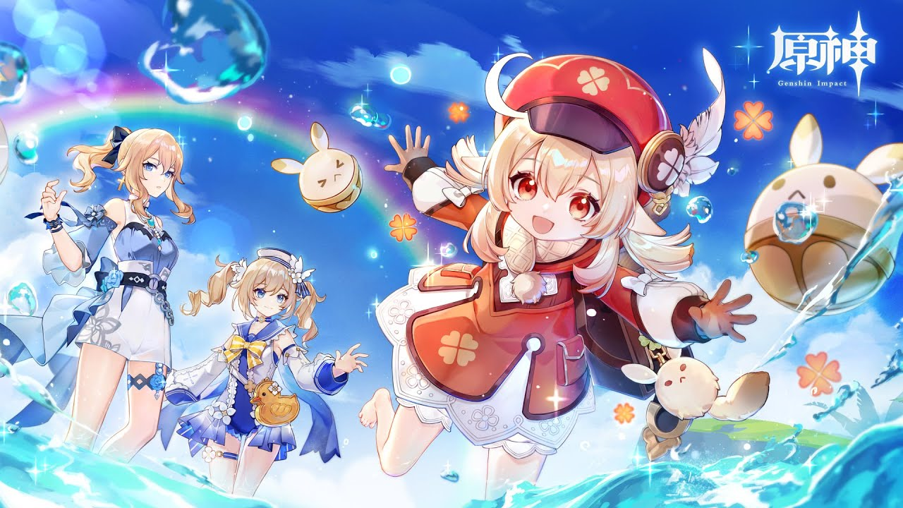 《原神 Genshin Impact》1.6版本预告   盛夏!海岛?大冒险!