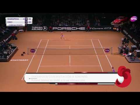 Maria Sharapova recibe Wild Card para ir a Toronto