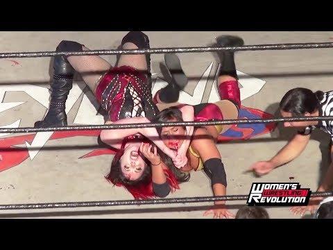 [Free Match] Rachael Ellering (Evers) vs. Taeler Hendrix | Women's Wrestling Revolution