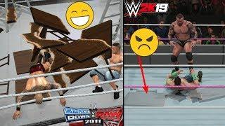 WWE Smackdown Vs. RAW 2011 Details Vs. WWE 2K19