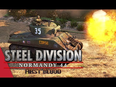 Pushing To The Limit! Steel Division: Normandy 44 Live Gameplay (Omaha, 3v3)
