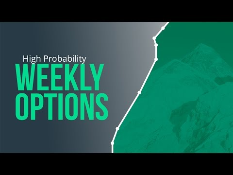 High Probability Weekly Options Strategies