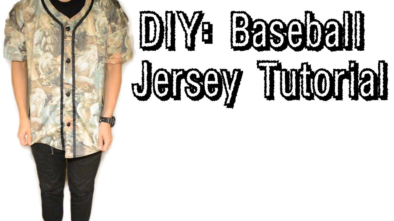 how to wear a baseball jersey guys
