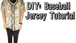 DIY: How to make a Baseball Jersey | From Scratch #10