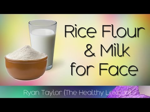 Rice and Milk: for Skin (Facemask)