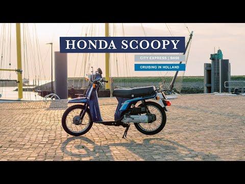 Cruising My Honda Scoopy 1987 In 4K | Honda SH50 City Express In The Netherlands
