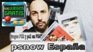 Más de 500 juegos gratis en tu PS4 Fácil y legal 100% | PSNOW ESPAÑA | PLAYSTATION Now 7 dias