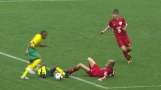South-Africa vs Russia - Ranking match 13/14 - Highlight - Danone Nations Cup 2016