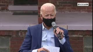 Joe Biden lies to Detroit steelworkers, says he's never made $400,000