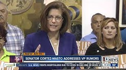 Senator Cortez-Masto addresses VP rumors