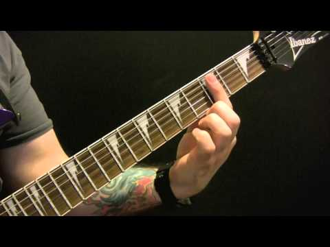 Crawling Guitar Tutorial by Linkin Park