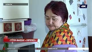 «Мынау масқара ғой!»: Алматылық зейнеткер сүттің ішінен мүшеқап тауып алды