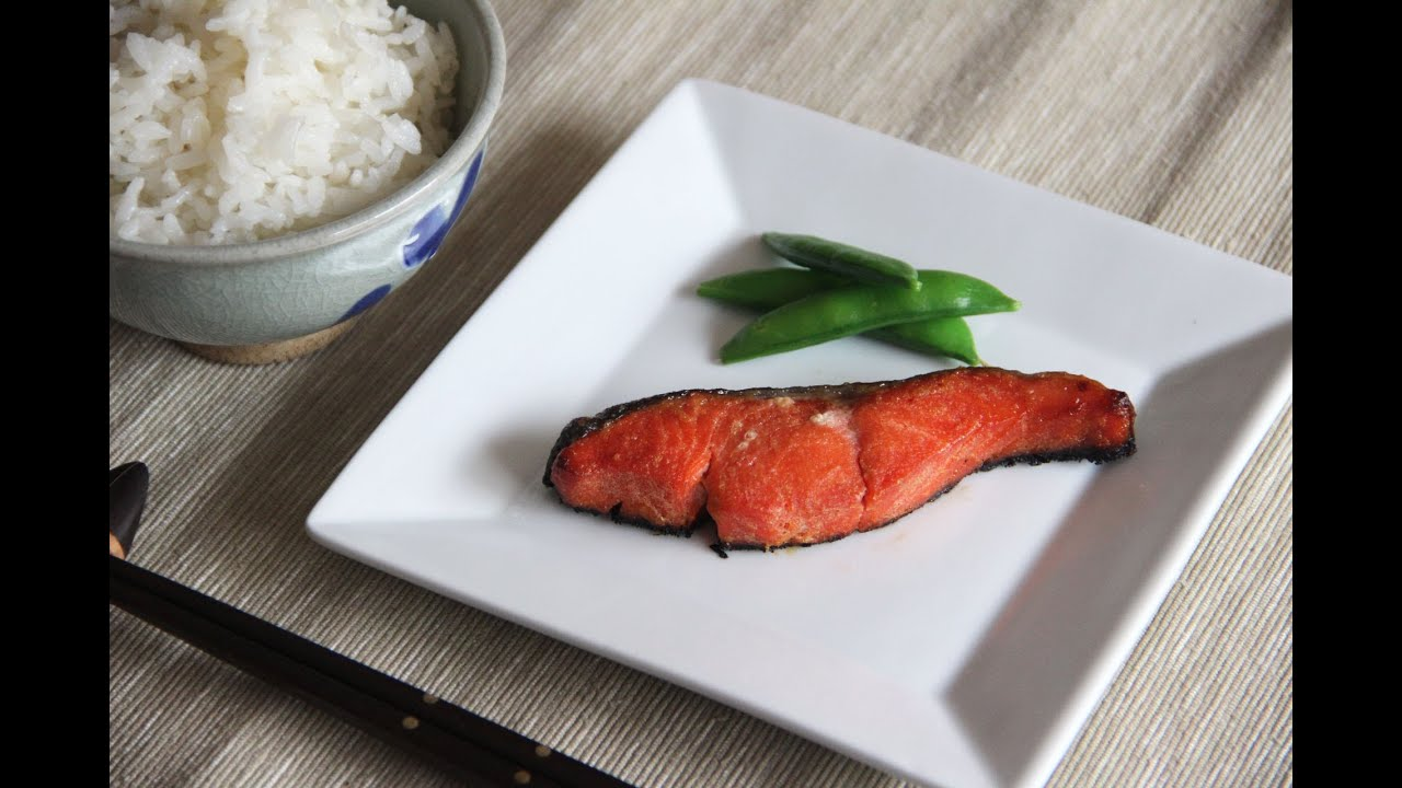 Grilled Salmon With Miso Glaze Recipe — Dishmaps