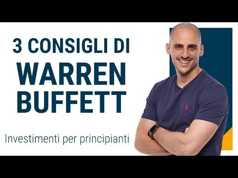 I 3 migliori suggerimenti di Warren Buffett, l'oracolo di Omaha