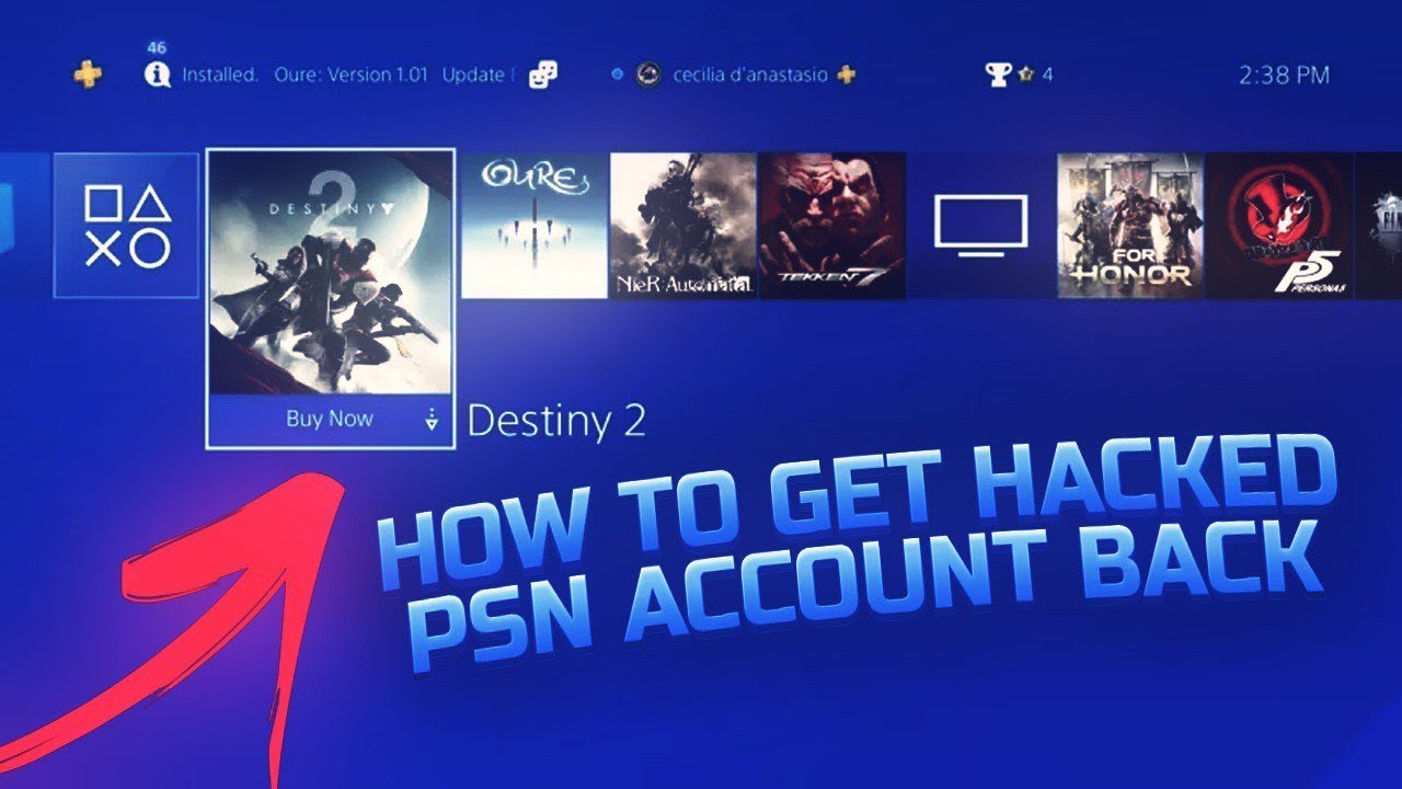 HOW TO GET BACK HACKED PSN ACCOUNT • THE 2K COMMUNITY MUST WATCH THIS!!!