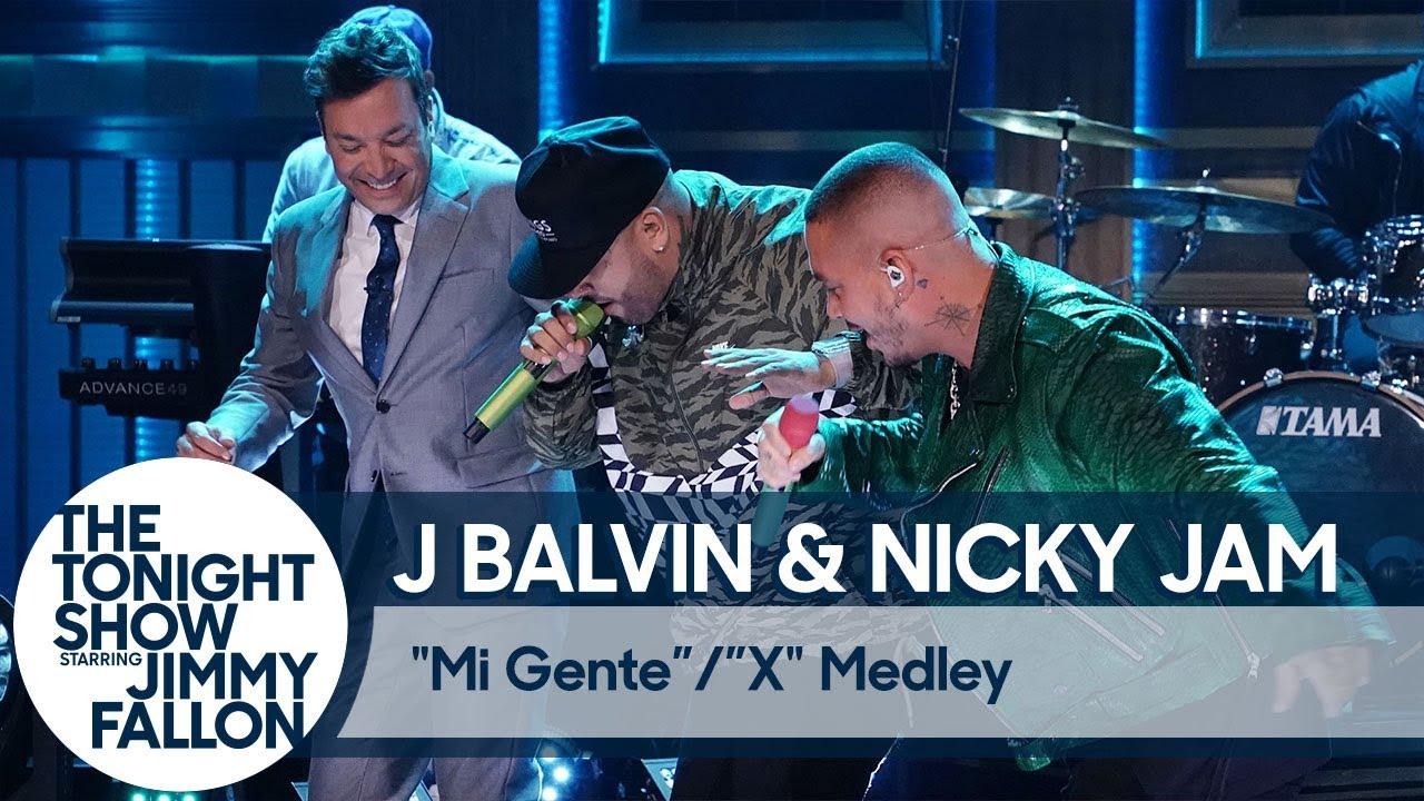 J Balvin u0026 Nicky JamMi GenteX Medley