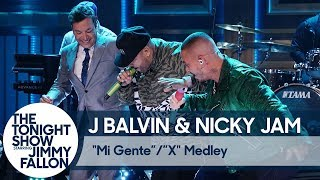 "J Balvin & Nicky Jam: ""Mi Gente""/""X"" Medley Video"