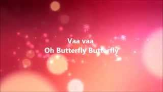 Oh butterfly -  MEERA Tamil Karaoke song with Lyrics
