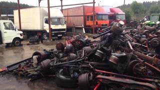 Разборка грузовиков тягачей самосвалов автобусов(, 2014-09-07T03:41:47.000Z)