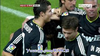 Malaga Vs Real Madrid All Goals [ 1-4 ] HD  Week 7 Liga BBVA 2010-2011