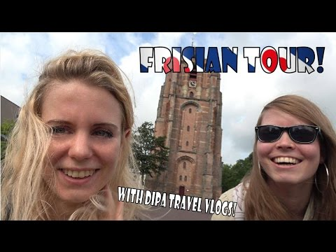 Touring the NL by Train! ~ Friesland with DiPa Travel Vlogs! ~ BlueIris Vlog