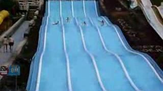 Tenerife Aqualand Crazy Racing Water Park
